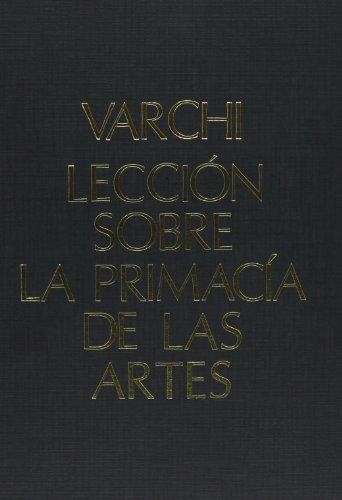 9788460087366: Lección Primacia de las Artes