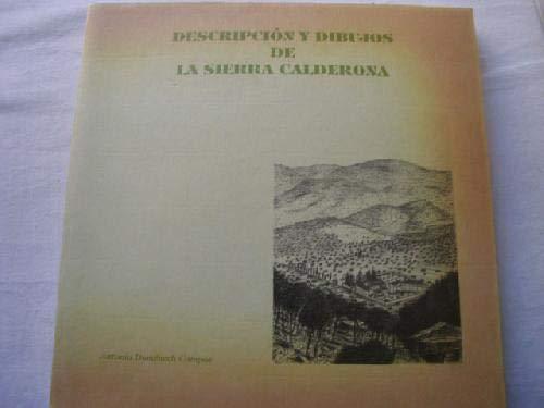 9788460421177: DESCRIPCION Y DIBUJOS DE LA SIERRA CALDERONA