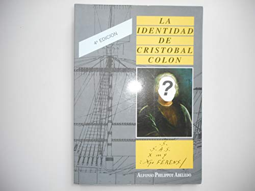 9788460423201: La identidad de Cristóbal Colón