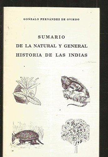 Sumario de la natural y general historia: Fernandez de Oviedo