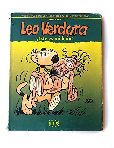 9788460478256: Leo verdura ¡este es mi León!
