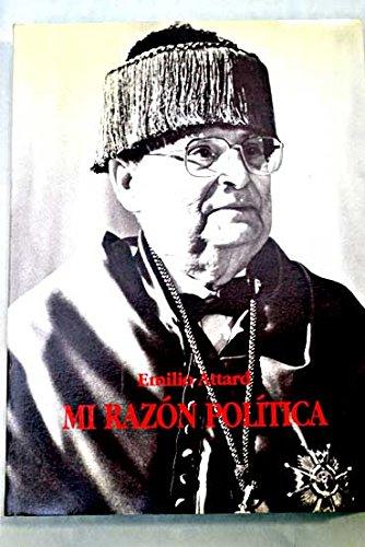 9788460493938: Mi razón política (Spanish Edition)