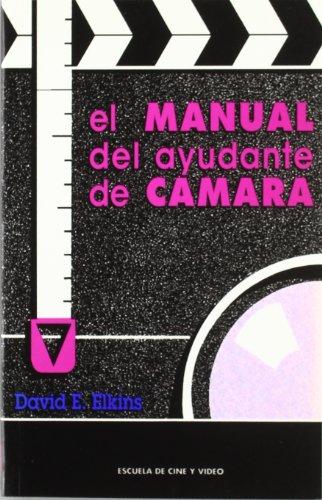 9788460505426: El Manual del Ayudante de Camara (Spanish Edition)