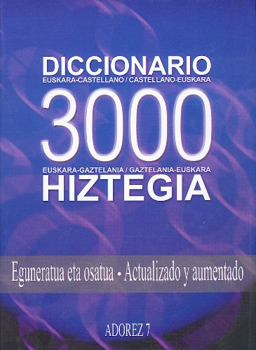 Diccionario 3000: Hiztegia 3000: V.A.V.A.