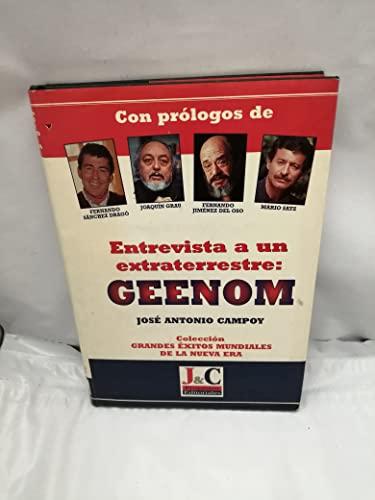 Entrevista a un extraterrestre, geenon: Campoy Sanz-Orrio, Jose