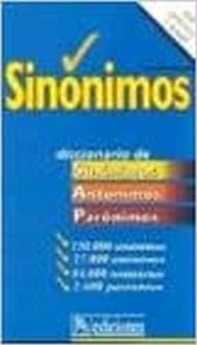 9788460592112: Diccionario de Sinonimos y Antonimos (Spanish Edition)