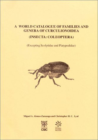 9788460599944: A World Catalogue of Families and Genera of Curculionoidea