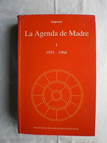 9788460611615: Agenda de madre I (1951-1960), la