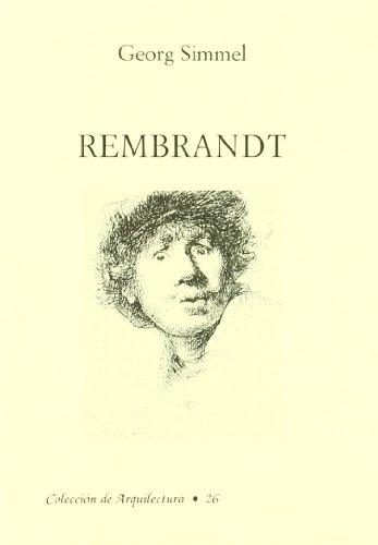 9788460615668: Rembrandt : ensayo de filosofía del arte