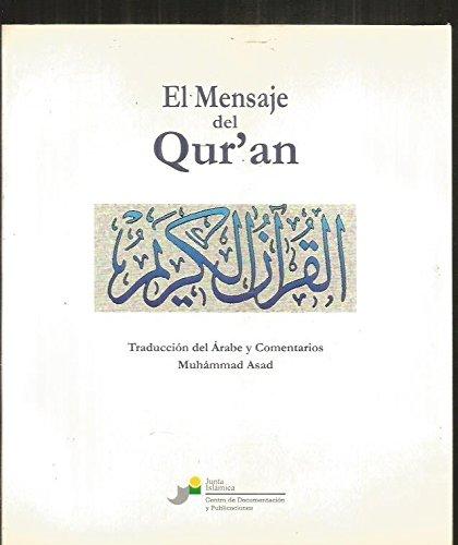 9788460735236: Mensaje del qur'an