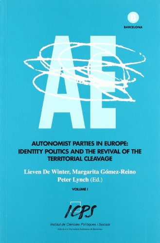 Autonomist Parties in Europe: Identity Politics and the Revival of the Territorial Cleavage (volumes I & II) (8460804283) by [???]