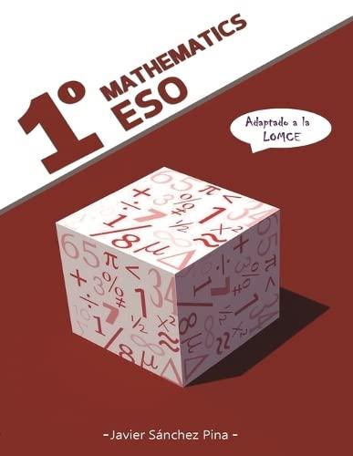 9788460897484: Mathematics 1º ESO (LOMCE)