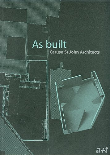 Caruso St. John Architects: As Built