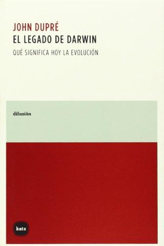 9788460983910: Legado De Darwin,El (difusión)