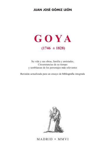 9788460990994: Goya