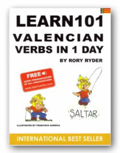 Learn 101 Velencian Verbs in 1 Day: Ryder, Rory