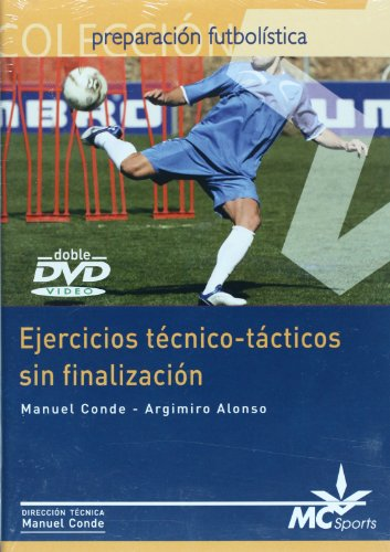 9788461120321: DVD Ejercicios técnico-tácticos sin finalización
