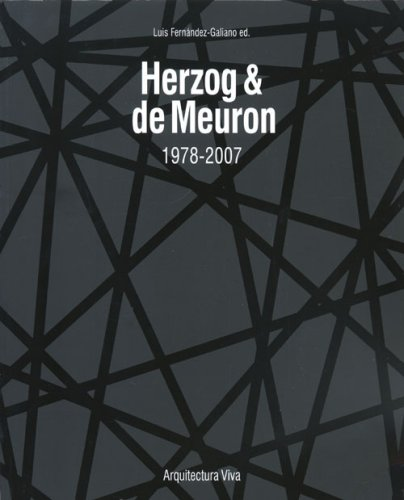 9788461163915: Herzog and De Meuron: 1978-2007 AV 114 + 77