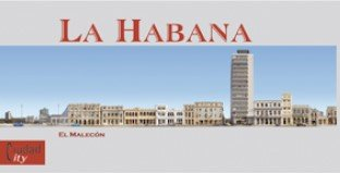 La Habana: El Malecon (English and Spanish Edition): Angel Morua