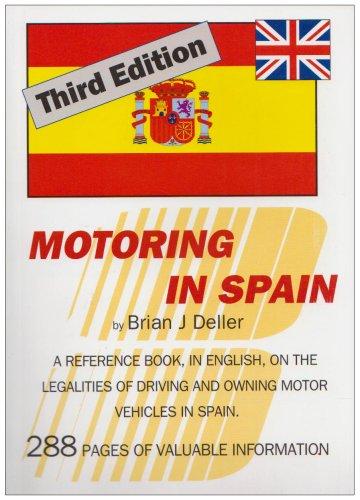 9788461192786: Motoring in Spain