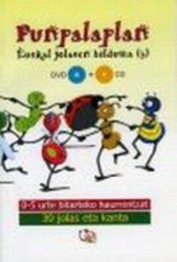 9788461217496: (dvd + Cd) Punpalaplan - Euskal Jolasen Bilduma 3