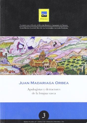 9788461239146: Apologistas y detractores de la lengua vasca (Humboldt)