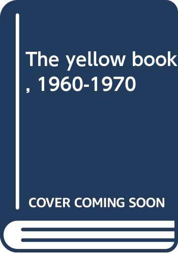 The yellow book, 1960-1970: Cestino Pérez, Joaquín