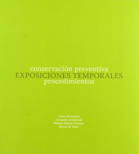 9788461261819: Conservación preventiva:exposiciones temporales, procedimientos