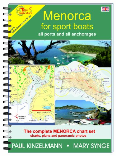 9788461322749: MENORCA FOR SPORT BOATS – all ports and all anchorages