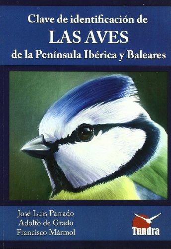 Calve de identificación de lass aves de: Parrado Romero, José