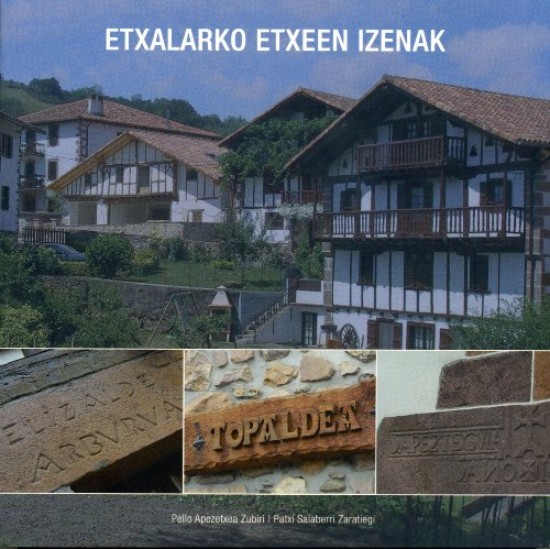 9788461352302: Etxalarko Etxeen Izenak