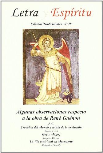 9788461406425: Algunas observaciones a propósito de la obra de René Guénon