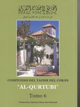"9788461437597: Compendio del tafsir del corán ""al qúrtubi"" - tomo VI"
