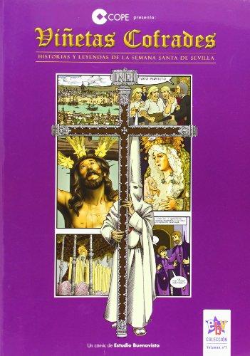 9788461477531: Viñetas cofrades : historias y leyendas de la Semana Santa de Sevilla
