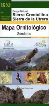 Mapa ornitológico del paraje natural de Sierra: Miguel Ángel Farfán