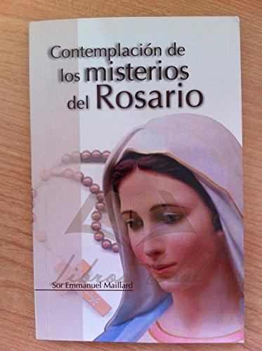 9788461525041: CONTEMPLACIÓN DE LOS MISTERIOS DEL ROSARIO