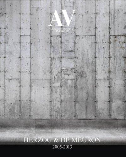9788461623402: Av 157/158: Herzog & De Meuron 2005-2013 (English and French Edition)