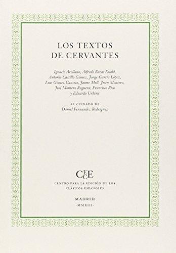 9788461692590: Textos de Cervantes,Los
