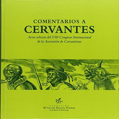 9788461722891: Comentarios a Cervantes