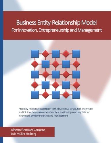 9788461743445: Business Entity-Relationship Model: For Innovation, Entrepreneurship and Management