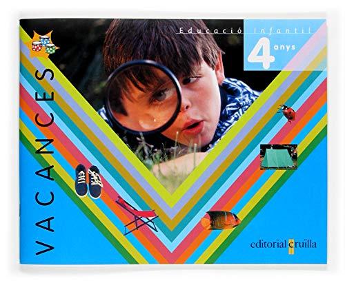 9788466107891: Tres tambors, educación infantil, 4 anys. quadern de vacances - 9788466107891