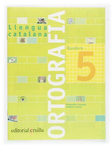 9788466110921: Quadern ortografia 5. Llengua catalana - 9788466110921