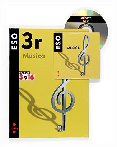 9788466116213: Música. 3 ESO. Projecte 3.16 - 9788466116213