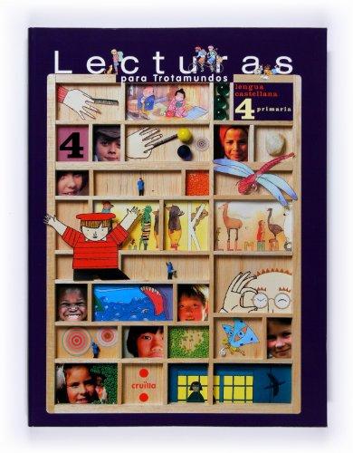 9788466119436: Lecturas para Trotamundos. Lengua castellana. 4 Primaria