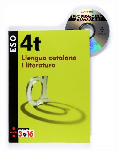 9788466119535: Llengua catalana i literatura. 4 ESO. Projecte 3.16