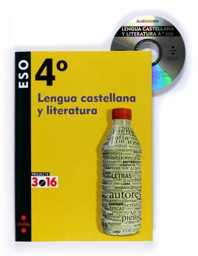 9788466119542: Lengua castellana y literatura. 4 ESO. Projecte 3.16 - 9788466119542