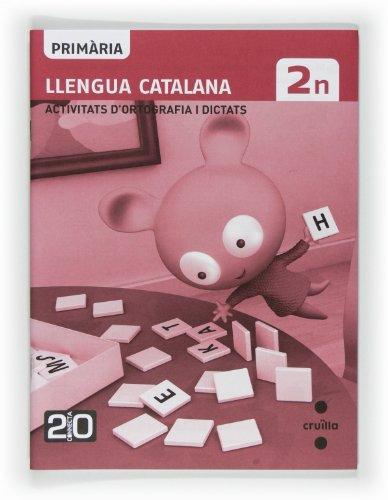 9788466125888: Llengua catalana, activitats d'ortografia i dictats. 2n Primària. Connecta 2.0 - 9788466125888