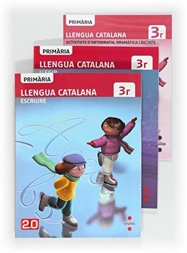 9788466129060: Llengua catalana, Llegir + Escriure. 3 Primària. Connecta 2.0 - 9788466129060