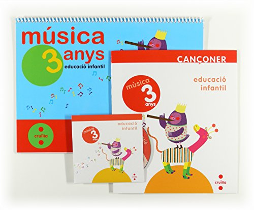 9788466129282: Música. 3 anys. Educació infantil