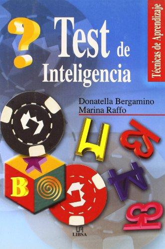 9788466201469: Test De Inteligencia / Intelligence Test (Tecnicas de Aprendizaje / Learning Techniques) (Spanish Edition)
